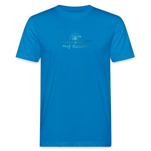 Weltentdecker auf Reisen - Männer Bio-T-Shirt