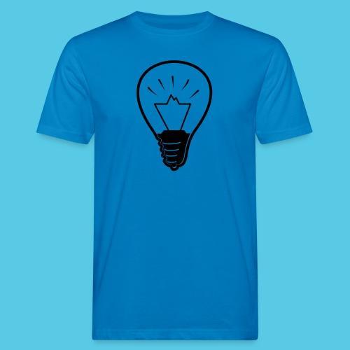 glühende Berge - Männer Bio-T-Shirt