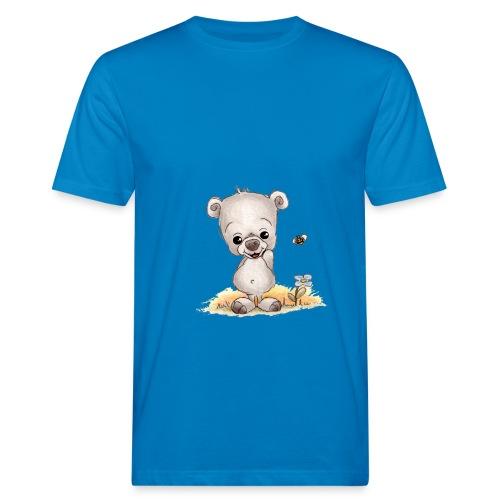 Noah der kleine Bär - Männer Bio-T-Shirt