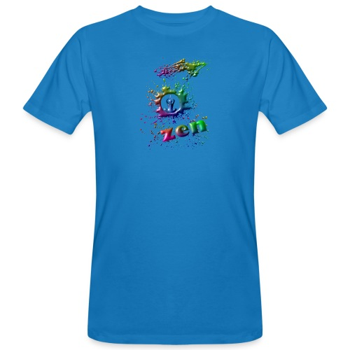 motif zen - T-shirt bio Homme