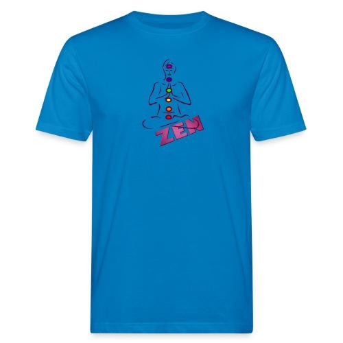 chakras zen - T-shirt bio Homme