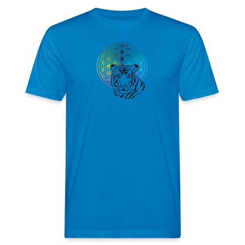 fleur de vie tigre - T-shirt bio Homme