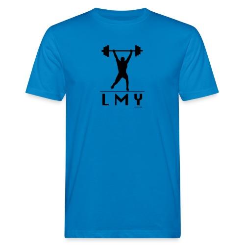 170106 LMY t shirt vorne png - Männer Bio-T-Shirt