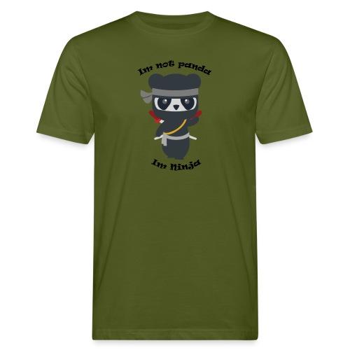Non sono un Panda - T-shirt ecologica da uomo