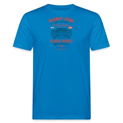 Roadway Legend - Mannen Bio-T-shirt