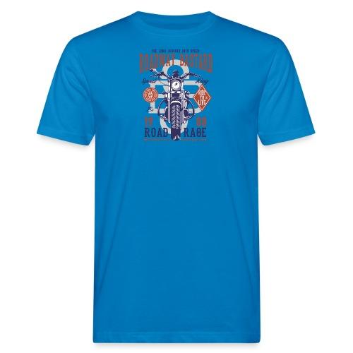 Roadway Bastard - Mannen Bio-T-shirt