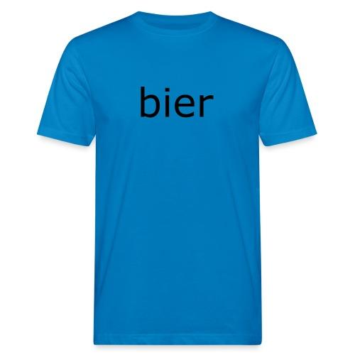 bier - Mannen Bio-T-shirt