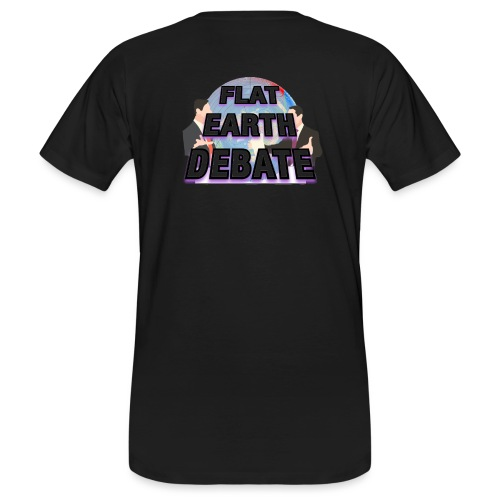 Flat Earth Debate - Men's Organic T-Shirt