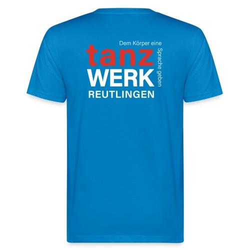 Tanzwerk - Standard - weiß - Männer Bio-T-Shirt