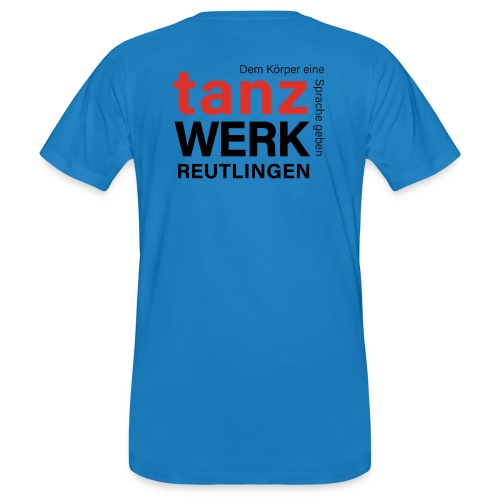 Tanzwerk - Standard - schwarz - Männer Bio-T-Shirt
