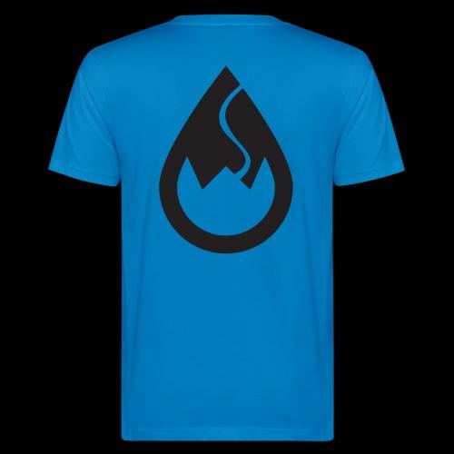 WSC-Logo schwarz - Männer Bio-T-Shirt