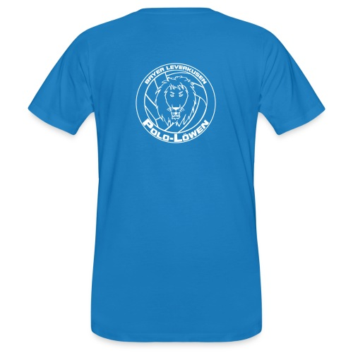 Polo Löwen einfarbig - Männer Bio-T-Shirt