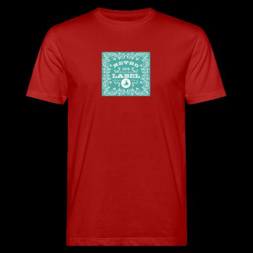geweihbär RETRO 2018 - Männer Bio-T-Shirt