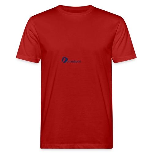 Logo DomesSport Blue noBg - Männer Bio-T-Shirt