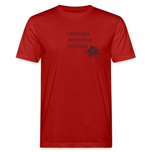 Cachupa Moqueca Feijoada - Männer Bio-T-Shirt