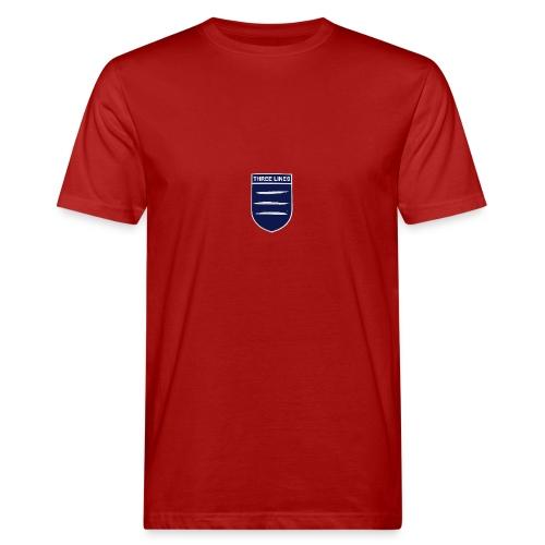 Three Lines On A Shirt - Men's Organic T-Shirt