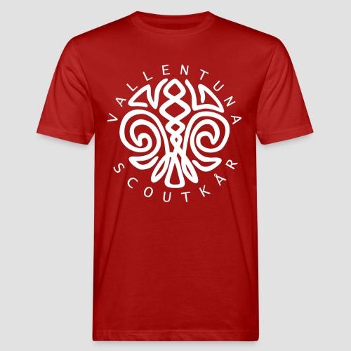 Logga vit - Ekologisk T-shirt herr