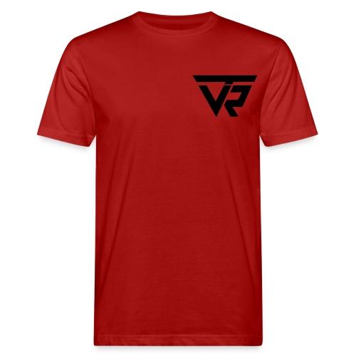 TVR Logo schwarz - Männer Bio-T-Shirt