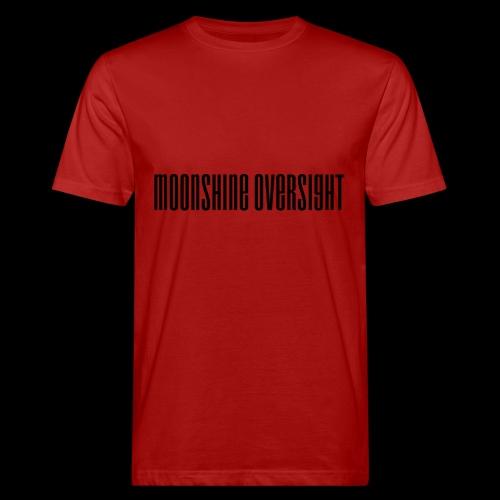 Moonshine Oversight logo - T-shirt bio Homme