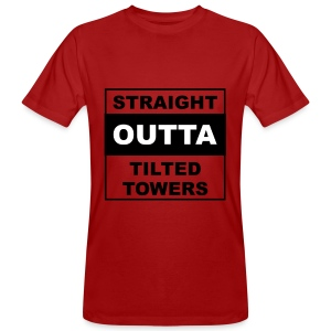 Straight outta tilted towers - Mannen Bio-T-shirt