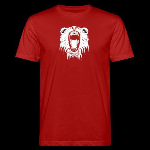 Lion Collection - Økologisk T-skjorte for menn