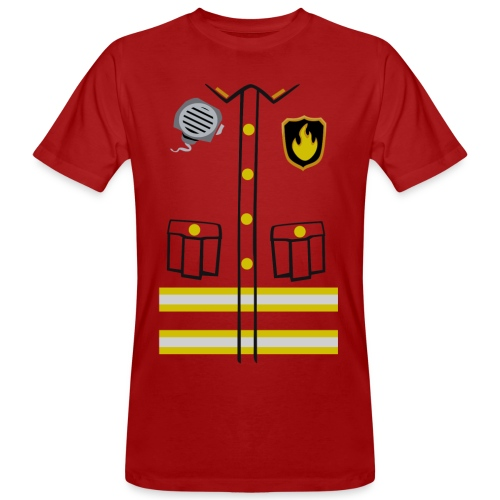 Firefighter Costume - Men's Organic T-shirt