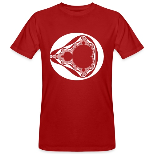 Classic Mandelbrot - Mannen Bio-T-shirt