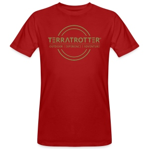Terratrotter® | Green - Men's Organic T-shirt