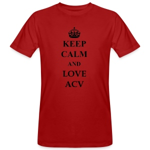 Keep Calm and Love ACV - Männer Bio-T-Shirt