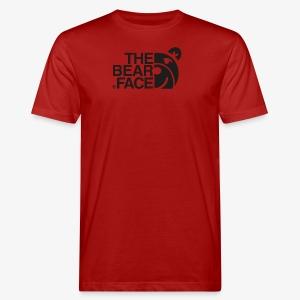 The Bear Face T-shirt (Black) - Camiseta ecológica hombre