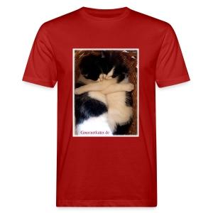 Umarmung - Männer Bio-T-Shirt