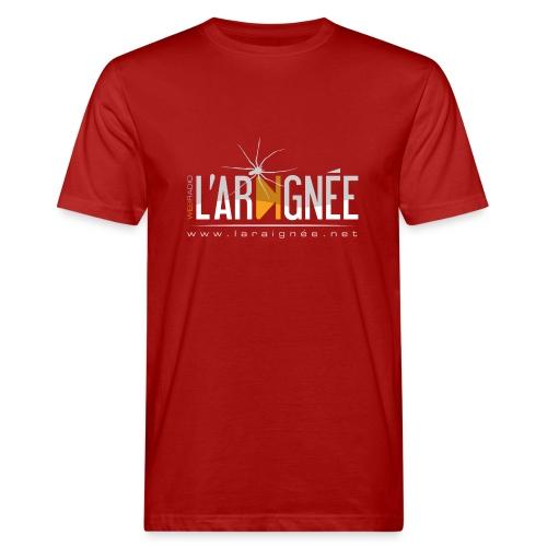 L'Araignée, le logo clair pour fond foncés - T-shirt bio Homme