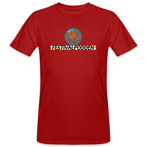 Festivalpodden - Loggorna - Ekologisk T-shirt herr