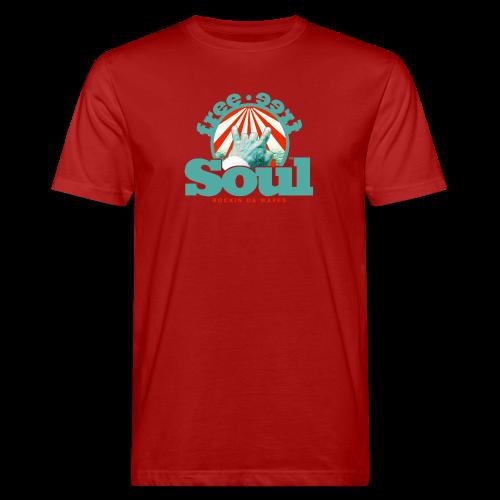 geweihbär - Männer Bio-T-Shirt