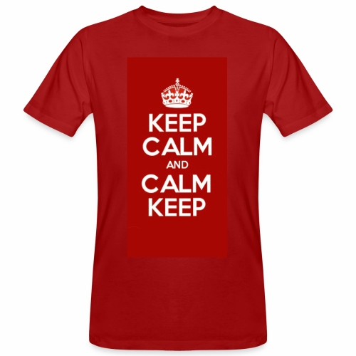 Keep Calm Original Shirt - Men's Organic T-shirt