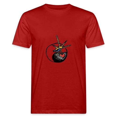 Mindfackt logo - Miesten luonnonmukainen t-paita