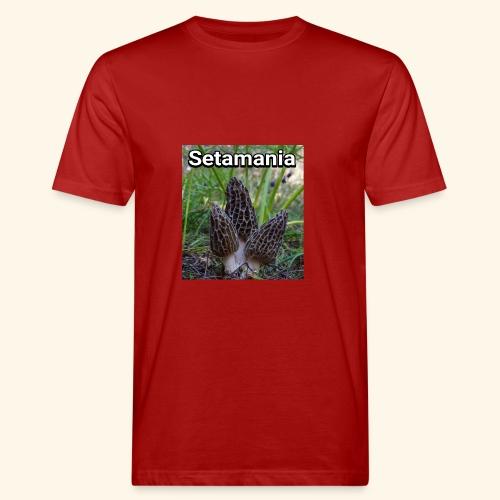 Colmenillas setamania - Camiseta ecológica hombre
