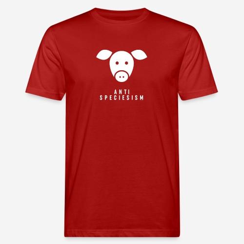 Antispeciesism Single Edition – Pig - Männer Bio-T-Shirt
