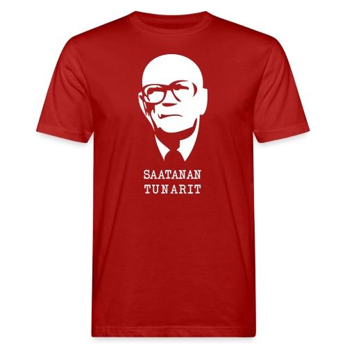 Kekkonen saatanan tunarit - Miesten luonnonmukainen t-paita