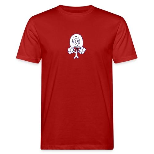 Poppetje 1 oog - Mannen Bio-T-shirt