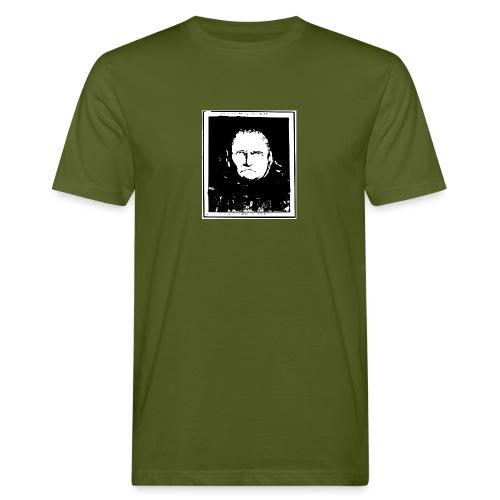 Gesicht Lavater - Männer Bio-T-Shirt