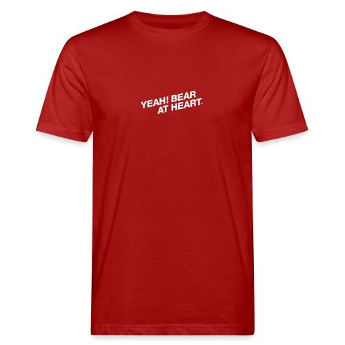 Yeah Bear at Heart #2 - Männer Bio-T-Shirt
