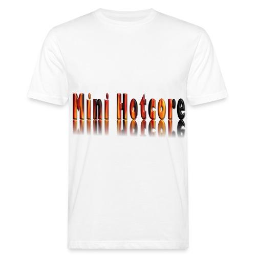 Feuriges 3D - Männer Bio-T-Shirt