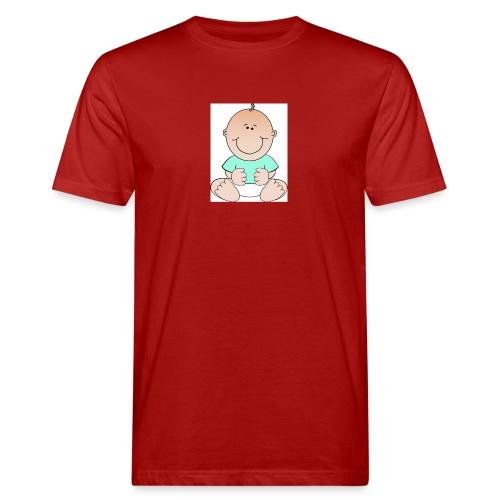 rompertje baby jongen - Mannen Bio-T-shirt