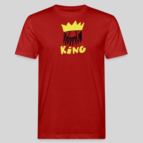 king - Männer Bio-T-Shirt