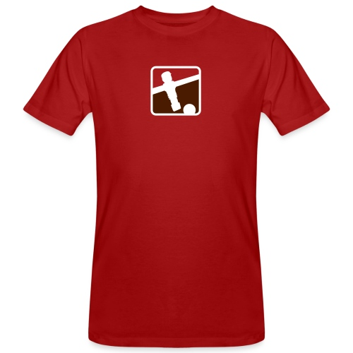 soccer player - Kickershirt - Männer Bio-T-Shirt