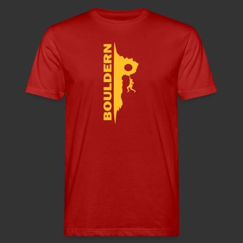 Bouldern - Männer Bio-T-Shirt