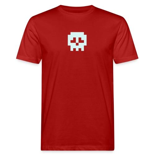 Retro Gaming Skull - Men's Organic T-Shirt