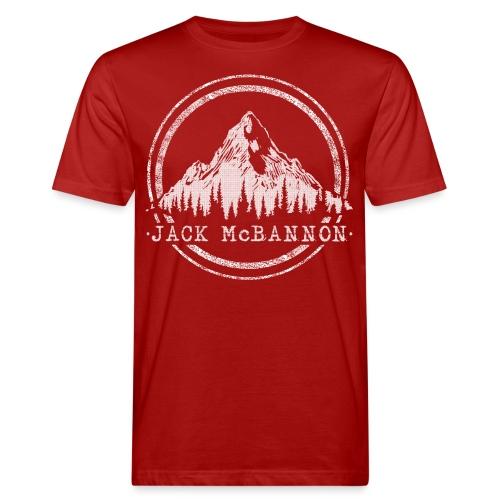 Jack McBannon - Mountain - Männer Bio-T-Shirt