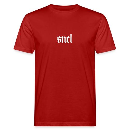 SNCL Retro Weiß - Männer Bio-T-Shirt